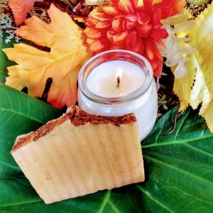 Pumpkin Spice Candle and Soap